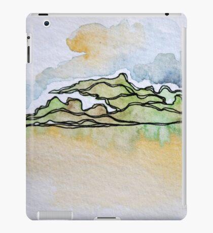 Watercolor Landscape I iPad Case/Skin
