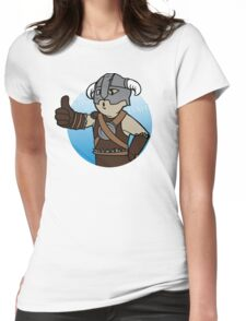 Dovahkiin Boy Womens Fitted T-Shirt