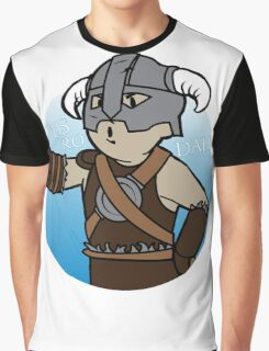 Dovahkiin Boy Graphic T-Shirt