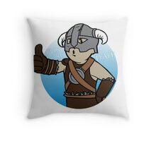 Dovahkiin Boy Throw Pillow