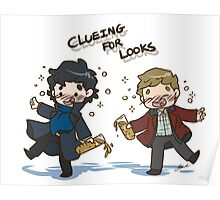 BBC Sherlock - Clueing for Looks Poster
