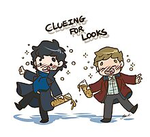 BBC Sherlock - Clueing for Looks Photographic Print