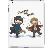 BBC Sherlock - Clueing for Looks iPad Case/Skin