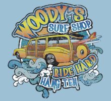 Surfer woody's t shirt One Piece - Short Sleeve