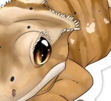 Tiger Crested Gecko Sticker