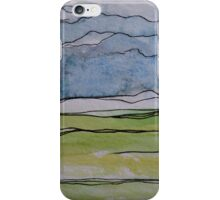 Watercolor Landscape II iPhone Case/Skin