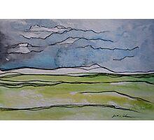 Watercolor Landscape II Photographic Print