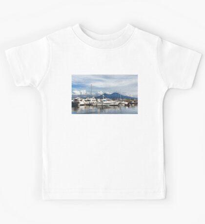 Vesuvius and Naples Harbor - Mediterranean Impressions Kids Tee