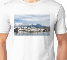Vesuvius and Naples Harbor - Mediterranean Impressions Unisex T-Shirt