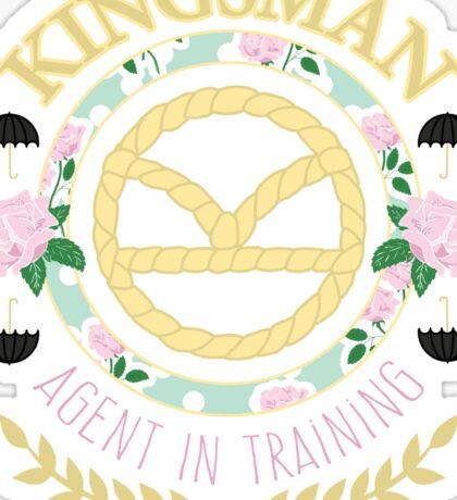 Agent In Training (Colour Version) Sticker