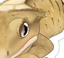 Brindle Crested Gecko Sticker