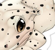 Dalmatian Crested Gecko Sticker