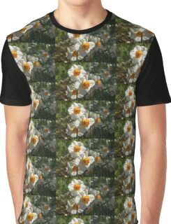 Sunny Side Up - Daffodils Blooming in a Fabulous Spring Garden Graphic T-Shirt