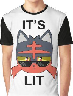 It's Lit Graphic T-Shirt