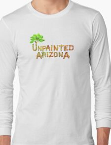 Would you shop at a store called Unpainted Huffheins? Long Sleeve T-Shirt