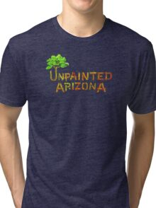 Would you shop at a store called Unpainted Huffheins? Tri-blend T-Shirt