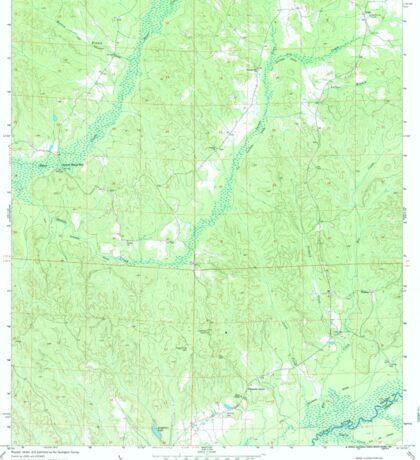 USGS TOPO Map Alabama AL Kirk 304342 1970 24000 Sticker