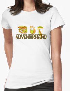 Adventureland Womens Fitted T-Shirt