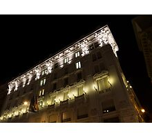 Architecture in Rome, Italy - Just Lift Your Head, Day and Night Photographic Print