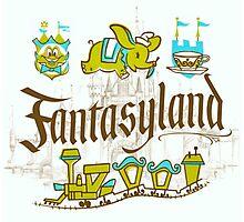 Fantasyland Photographic Print