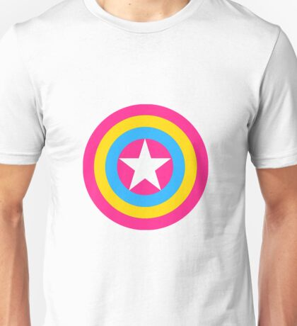 Captain Pansexual Unisex T-Shirt