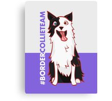 Team Border Collie Canvas Print