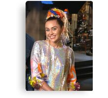 Miley Cyrus SNL 2015 Canvas Print