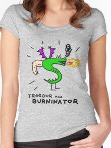 Trogdor, The Burninator Women's Fitted Scoop T-Shirt