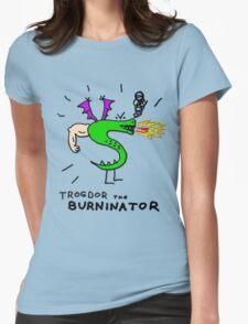 Trogdor, The Burninator Womens Fitted T-Shirt