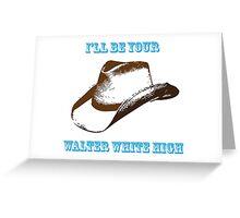 Chris Lane - Walter White High Greeting Card