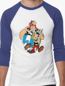 Asterix Obelix Men's Baseball ¾ T-Shirt