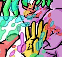 Barf Hands Sticker
