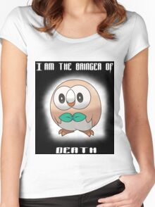 Bringer of Death Rowlet Women's Fitted Scoop T-Shirt