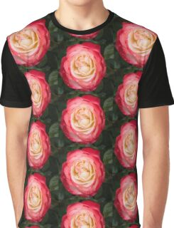 Rose and Rain - Pinks and Creams and Whites Graphic T-Shirt