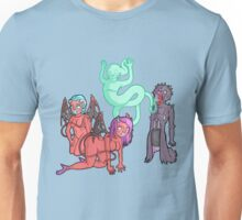 demons, ghosts and monsters Unisex T-Shirt
