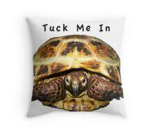Tortoise - Tuck me in Throw Pillow
