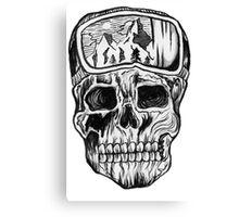 DoomedAlps  Canvas Print