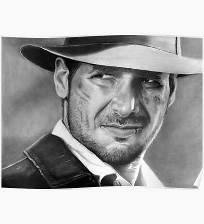 Indiana Jones - Harrison Ford Poster