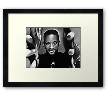 Will Smith Framed Print
