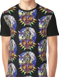 Majora's Mask Stained Glass Graphic T-Shirt
