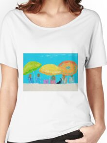 Beach painting - Sunny Days Women's Relaxed Fit T-Shirt