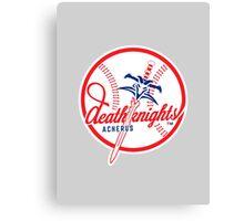 Death Knights - WoW Baseball Series Canvas Print