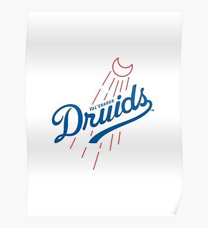 Druids - WoW Baseball  Poster