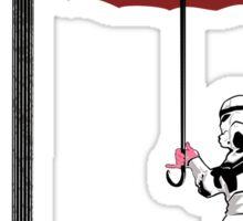 Singing in the Rain (Pink Period) Sticker