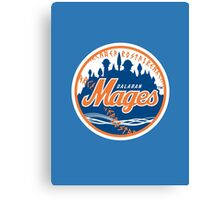 Mages - WoW Baseball  Canvas Print