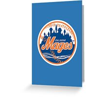 Mages - WoW Baseball  Greeting Card