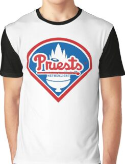 Priests - WoW Baseball Graphic T-Shirt