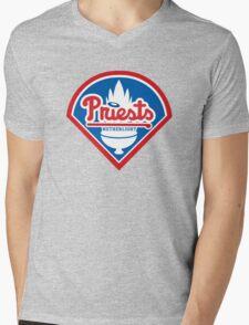 Priests - WoW Baseball Mens V-Neck T-Shirt