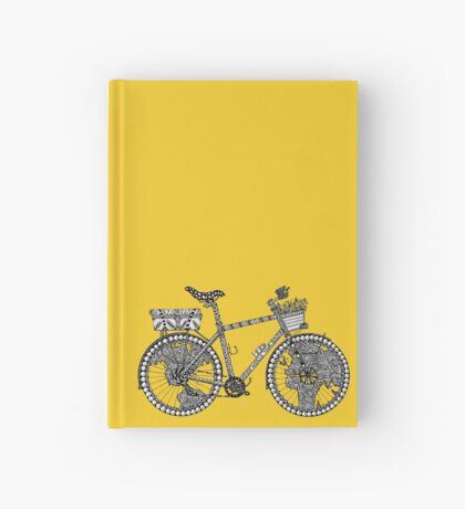 World Tour Bicycle  Hardcover Journal
