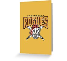 Rogues - WoW Baseball Series Greeting Card